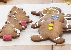 A great Christmas treat. You could even get the kids to decorate their own biscuits.
