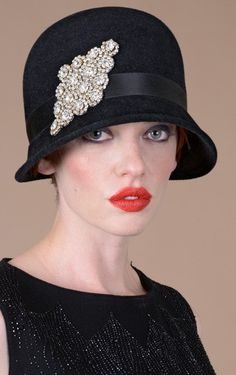hat tips - http://www.boomerinas.com/2013/05/07/best-hat-styles-for-women-with-short-hair/
