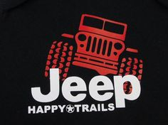 Jeep Happy Trails Baby Onesie Jeep Tires Jeep by RoosterBoutique