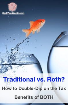 Contribute to a traditional account upfront, then slowly convert to a Roth AFTER you retire. This lets you get the best of both worlds. #retirement
