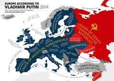 Europe according to Putler.