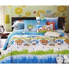 Detské posteľné obliečky s motívom detí