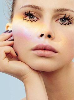 Maquillage arc-en-ciel #rainbow #makeup