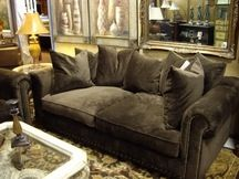 Deep couch. Doesn't look as expensive