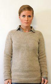 Ravelry: Ladies Classic Raglan Pullover pattern by Jane Richmond