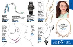 eBrochure | AVON from the Outlet brochure...who doesn't jewelry? how about jewelry ON SALE?!?! These pieces would look great for the holiday parties coming up!