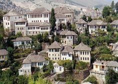 A well preserved Ottoman town and  UNESCO World Heritage Site, Gjirokastra #Albania #Travel