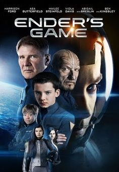 Ender's Game. Finally a movie that celebrates virtue!