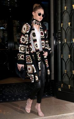 Dare to Wear: An Unexpected Knit, Courtesy of Gigi Hadid | E! Online UK  #RePin by AT Social Media Marketing - Pinterest Marketing Specialists ATSocialMedia.co.uk