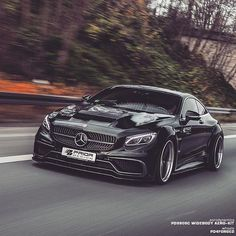 AMG S63 Class Coupe by Prior Design