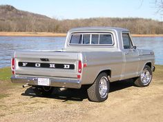 Viewing Auction #230745642532 - 1972 Ford F100 Custom Short Box FE 390 - 4 Speed Top Loader Pickup Truck | Keith Martin's Collector Car Price Tracker