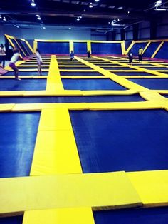 Trampoline World... Heck this is for the parents.. but i guess we can share with the kids