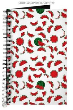 * Watermelon Pattern Beach Notebook by #Gravityx9 at Cafepress * Nice size for home, school or office. * Fun and summery watermelon slices and wedges. * school supplies notebooks stationery * school shopping supplies * school notebooks * office notebooks * bullet journaling * journal for school or office * bullet journal * school journal * #Backtoschool #Schoolsupplies #Schoolnotebook #notebooks #officenotebooks #officesupplies #stationerysupplies #Watermelon 0721 Back To School Supplies, Office Supplies, Office Fun, Custom Journals, School Notebooks, Watermelon Slices, Bullet Journal School, Journal Design, School Shopping