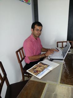 Vikrant our MD at it even on a public holiday!