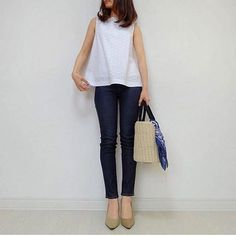 Soft Classic, Classic Style, Casual Outfits, Fashion Outfits, Womens Fashion, Japanese Fashion, Spring Summer Fashion, Stitch Fix, Black And White