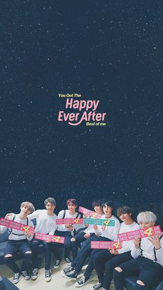 Muster Happy Ever After Bts Wallpaper Lyrics, K Wallpaper, Wallpaper Ideas, Namjin, Yoonmin, Hoseok, Bts Anime, Taehyung, Rap