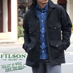 Rakuten: FILSON MACKINAW CRUISER Filson マッキーノ Cruiser men's (men's) _ 111010F(ripe)- Shopping Japanese products from Japan