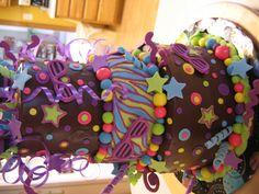 80's Shutter Shades inspired cake