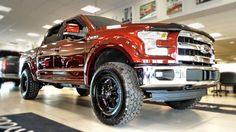 "Kentwood Kustoms ""Bronze Fire"" 2015 #Ford F-150 Lariat Supercrew #4X4. Modifications include: fender flares, painted to match, Pro Comp Xtreme A/T tires and Mayhem rims."