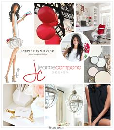 Recently Launched! Website Design for Jeanne Campana Design