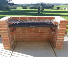 """See our internet site for additional details on """"built in grill diy"""". It is an excellent place to find out more. Parrilla Exterior, Brick Grill, Brick Built Bbq, Diy Grill, Outdoor Oven, Outdoor Bbq Grills, Outdoor Cooking, Built In Grill, Outdoor Kitchen Design"""