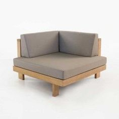 Cabo Teak Outdoor Sectional (Corner)