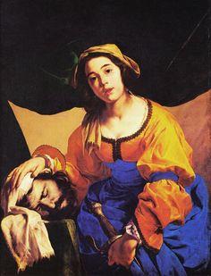 Cavallino Bernardo  Giuditta con la testa di Oloferne, XVII d.C.