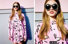 Lazy Oaf's Colorful & Fun Summer 2014 LookBook | The Cool Hour | Style Inspiration | Shop Fashion