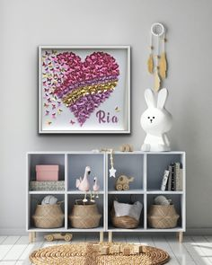 Pink purple Butterfly Heart with Gold accent Butterfly Wall Art, Paper Butterflies, Purple Butterfly, Pink Purple, Gold Paper, Paper Art, Heart Wall Art, Butterfly Decorations, Shades Of Teal