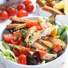 Serena Salad con pollo croccante #chichen #salad
