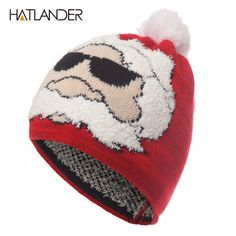 5b6c82791a4 Parent-child Christmas hat winter crochet knitted hats outdoor warm  fashion   clothing