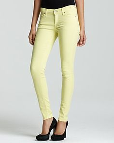 Loving the pastel colored jeans....where are you spring?