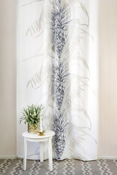 Pina Colada by Saara Kurkela, Reimari rug by Tanja Orsjoki Pina Colada, New York Street, Branding Design, Curtains, Living Room, Ss16, Finland, Interior, Pattern
