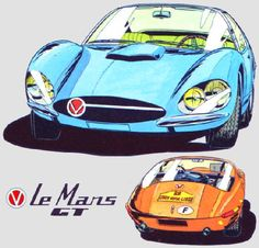 Caricatures, Car Drawings, Automotive Art, All Cars, Le Mans, Cars Motorcycles, Illustrations, Classic Cars, Comic Books