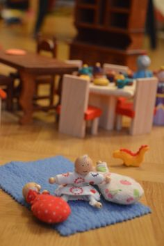 Baby Dollhouse doll. These are super cute and apparently a pretty simple DIY project too