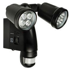 Lámpara exterior con cámara y sensor de movimiento