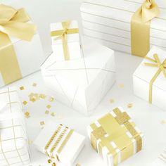 Sally J Shim - PORTFOLIO - Gifted magazine by Creature Comforts // holiday gift wrapping