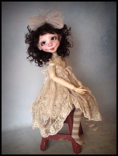 OOAK Cookie MSD BJD by Kim Arnold for The Trinket Box