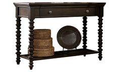 Key Town Sofa Table - very nice, opens to reveal to small drawers