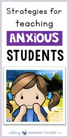 Strategies for Teaching New Concepts To Anxious Students This is a list of practical strategies to think about when working with anxious students in order to ease anxiety and help them feel comfortable enough to focus on their work. Social Skills Activities, Teaching Social Skills, Social Emotional Learning, Learning Activities, Kindness Activities, Emotional Books, Feelings Activities, Teaching Tools, Teaching First Grade