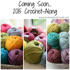 Coming Soon... 2015 CAL (Crochet along) crochet - Sophie's Universe CAL on Look at What I Made - starts January 18 2015 and runs for 20 weeks