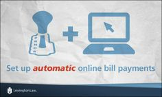 Credit-Tip-Tuesday!  Online bill payments are probably the best way to ensure that you don't forget a due date!