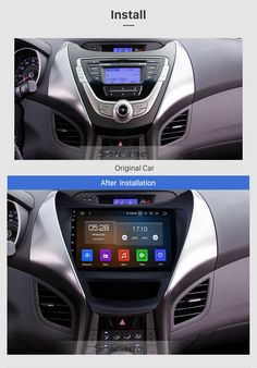 Seicane 9 inch 2011 2012 2013 Hyundai Elantra Radio Replacement with Aftermarket Car Bluetooth GPS System Multi-touch Capacitive Screen WiFi Mirror Link AUX HD Video DVR Elantra Car, New Hyundai, Hyundai Veloster, Tv Tuner, Hyundai Accent, Car Bluetooth, Digital Tv, Backup Camera, Autos