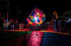 sydney australia light installations