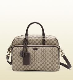 briefcase with laptop compartment Gucci Handbags, Luxury Handbags, Gucci Card Holder, Briefcase, Louis Vuitton Damier, Luxury Fashion, Laptop, Accessories, Style