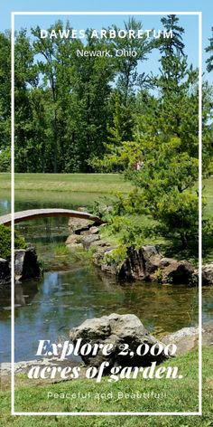 Dawes Arboretum in Newark, Ohio - Exploring Ohio - DustinNikki Mommy of Three Best Places To Vacation, Cool Places To Visit, Places To Go, Abandoned Castles, Abandoned Mansions, Abandoned Places, Travel Inspiration, Travel Ideas, Travel Tips