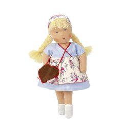 doll/Puppe: Käthe-Kruse Puppen - Produkte - Waldorfpuppe Heidi. Ab 3 Jahren. 38 cm