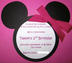 minnie mouse party - Google Search