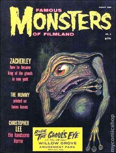 Famous Monsters of Filmland Magazine #4