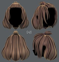 Improve The Look Of Your Hair With These Excellent Tips Short Hair Drawing, Cartoon Hair, High Hair, Hair Sketch, Long Hair Tips, Hair Issues, Chibi, Hair And Beauty Salon, Anime Hair